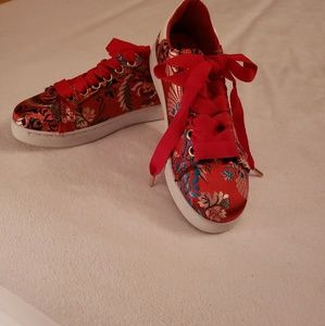 Shoes - New Red Sneakers